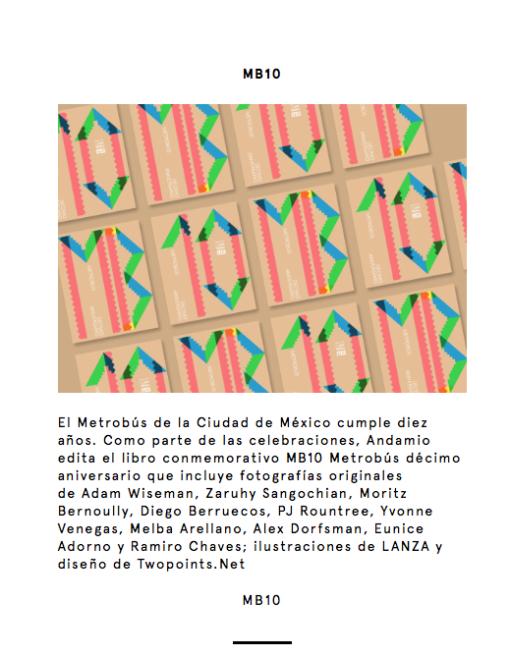 Libro Metro bus